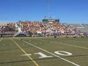 Homecoming Pep Assembly 2015 in the Stadium
