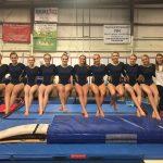 West Forsyth High School Girls Varsity Gymnastics finishes 3rd place