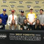 West Forsyth Fall 2017 College Signing