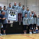 Girls Varsity Gymnastics finishes 1st place at Forsyth County Championship