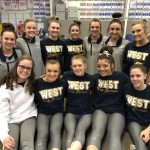 Girls Varsity Gymnastics finishes 3rd place at Buford Invitational
