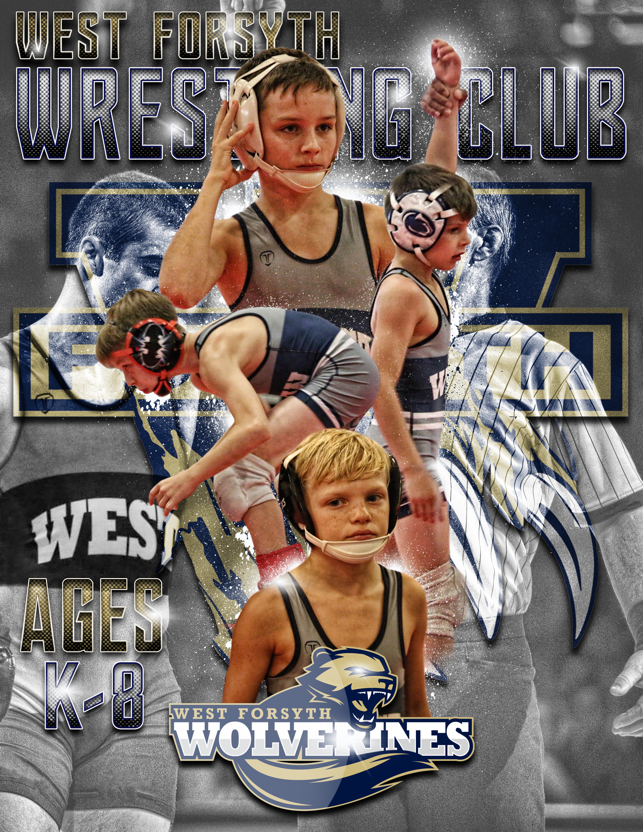 Youth and MS Wrestling Camp!