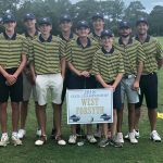 Boys Varsity Golf finishes 5th place at GHSA State Tournament