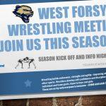 2018-2019 West Forsyth Wrestling Club Parent Meeting