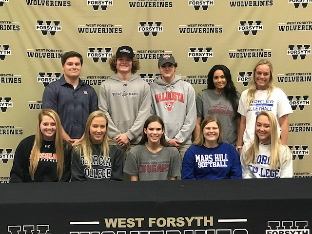 Congratulations to all our athletes on National Signing Day!