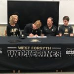 Garrett Woodall Signs with West Point!