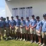 Boys Varsity Golf Wins Area 3-7A Golf Tournament