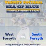 "Lets Create a ""Sea of Blue"" for Varsity Softball!!"