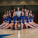 2019 State Champion Gymnastics Team to receive their State Rings prior to Peachtree Ridge Game! #3Peat