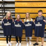 West Athletic Department recognizes the September Athletes of the Month!