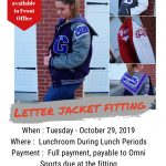 Fall Letter Jacket Fitting 10/29