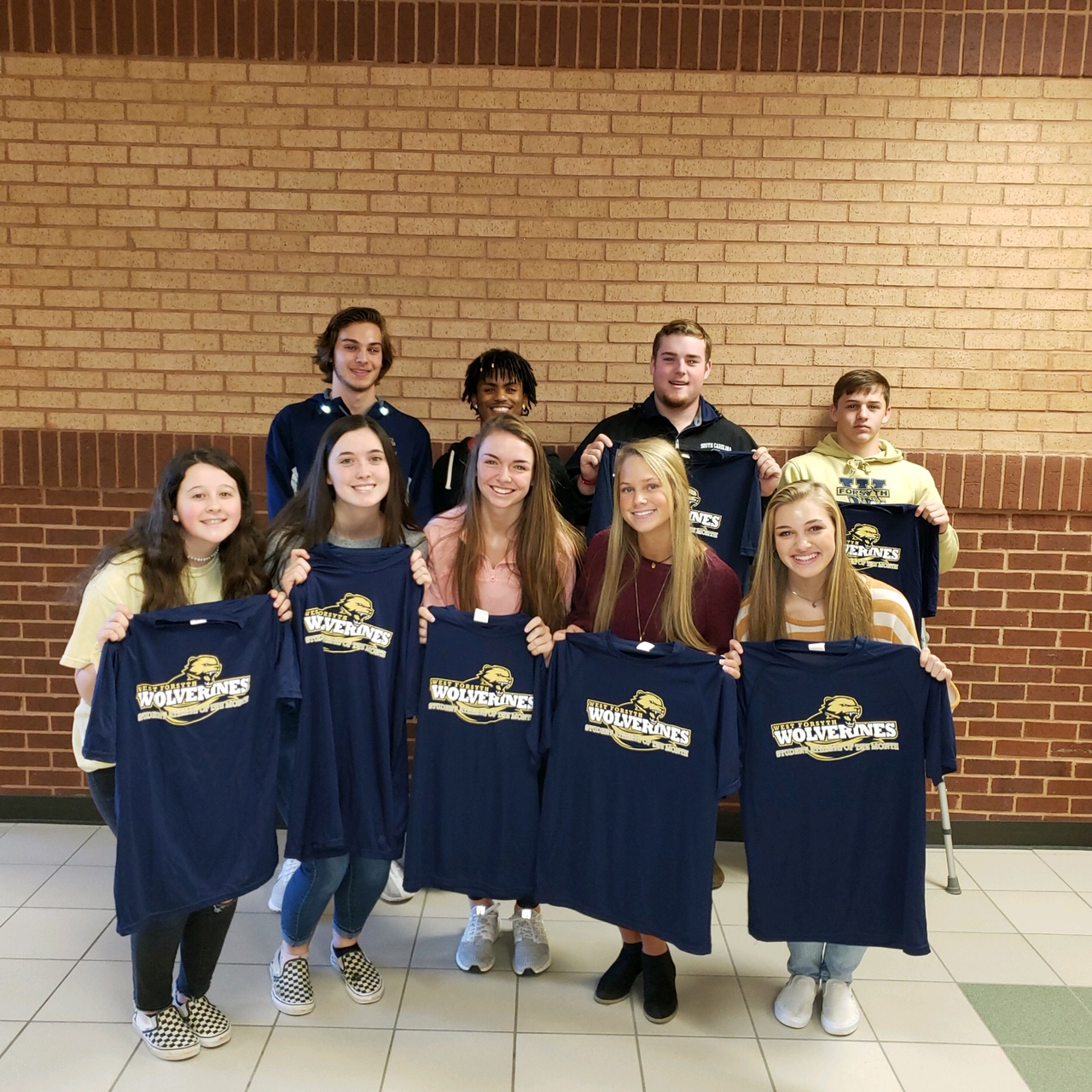Meet the Wolverine Athletes of the Month for November!