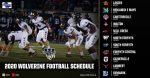 Updated 2020 Varsity Football Schedule