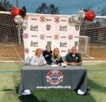 Courtney Jebavy Signs to play Soccer at Georgia Southern! Congrats Courtney!
