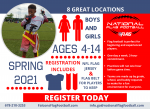 NFL Flag Football Spring League Registration is Open!