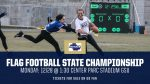 West Flag in State Championship! More info coming, keep checking back here!