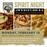 Soccer Spirit Night – Jim 'N Nick's