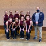 West Dance finished 3rd in Hip Hop, 4th in Jazz, and 6th Overall at State Championship