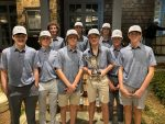 Boys Junior Varsity Golf finishes 2nd place at Lambert Longhorn Invitational Tournament
