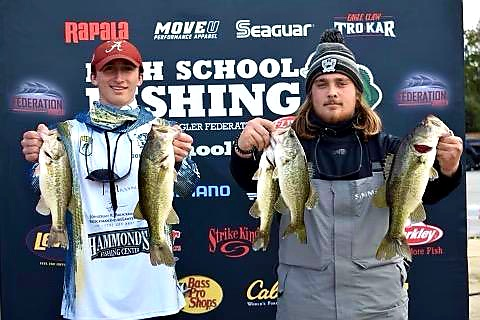 West Anglers Chase Mason and Jonathon Garbaz fishing for a State Title!