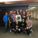 Basketball Team Visits Shelbie