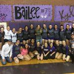 Lehi High School Girls Varsity Volleyball beat American Fork High School 3-2