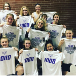 Girls Basketball First 1000 and 2000 Members