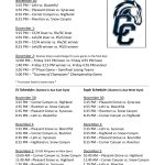 Click Here: Lehi Boys Basketball Tourney Schedule in Corner Canyon Tournament of Champions -Nov 30 thru Dec 2nd