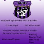 Lehi High School Coed Futsal Tournament.