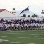 Lehi Football Wins at home against Taylorsville