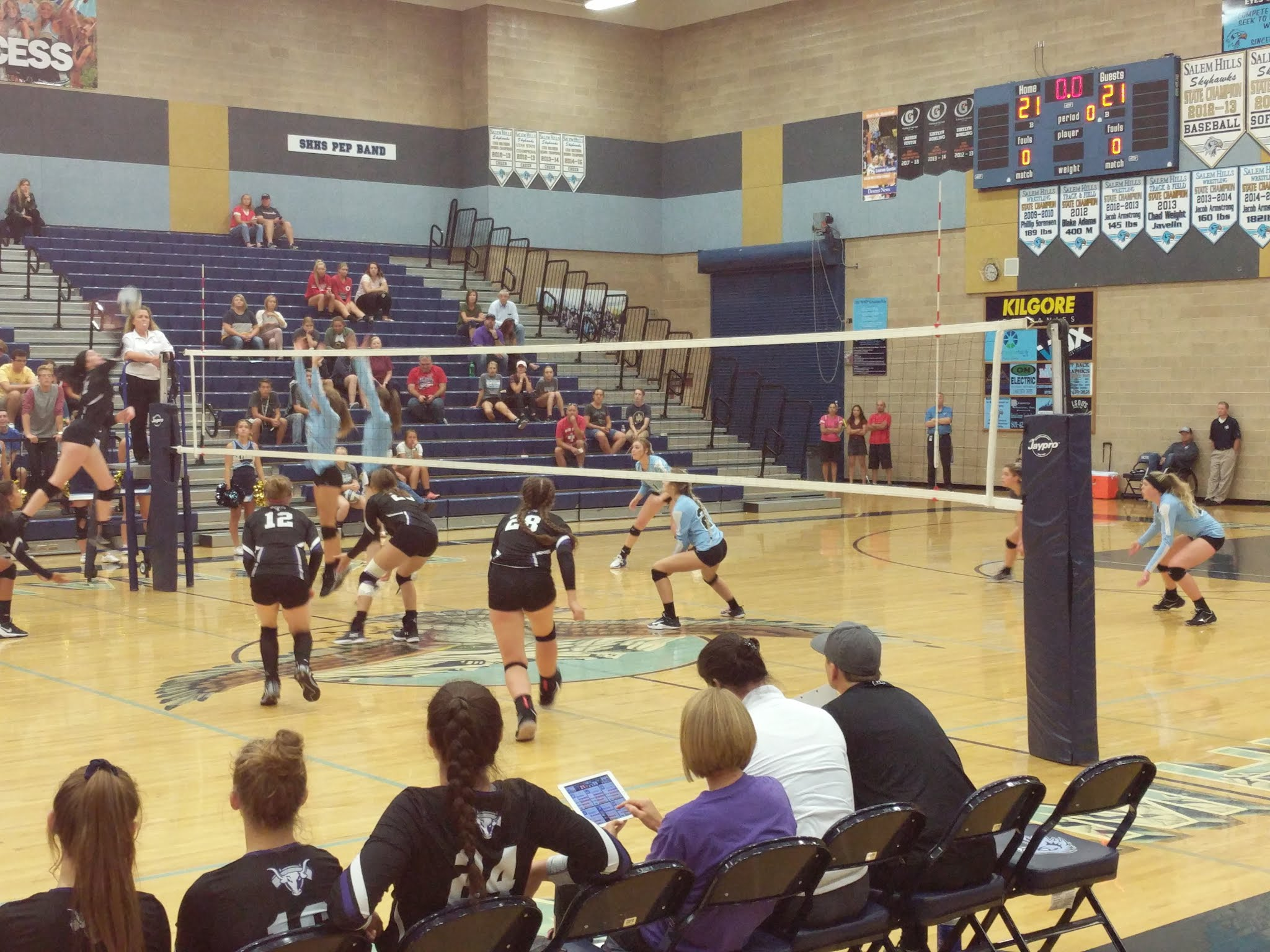 Girls Volleyball Loses to Salem Hills