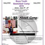 Boys Basketball Kids Camp Information