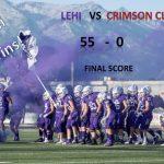 Lehi Football Wins! 55-0
