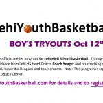 Lehi Youth Basketball Tryouts/Registration