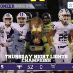 Lehi Varsity Football beats Timpanogos 52 – 0