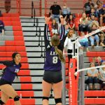 Lehi sweeps Mt Ridge in the away region match-up on Tuesday  night