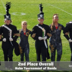 Lehi Marching Band Places 2nd Overall at the Nebo Tournament of Bands