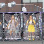 Senior night for Girls Soccer vs Timpview