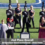 Lehi Marching Band takes 2nd Place in the Bridgerland Band Invitational