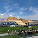 Marching Band at BYU Invitational
