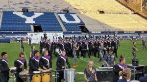 Marching Band at BYU Invitational