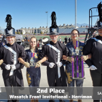 Lehi Marching Band takes 2nd at Wasatch Front Invitational