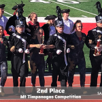 Lehi Marching Band finishes 2nd at Mt Timpanogos Competition