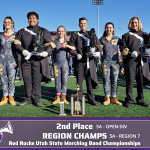 Lehi Marching Band Takes Region and 2nd Place Open Division at State
