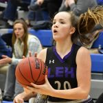 Lehi Girls Basketball on fire with 3 pointers ! Take the win 68-43 against Pleasant Grove