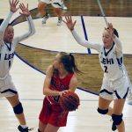 Girls Basketball opens new gym with region win over Alta 67-36
