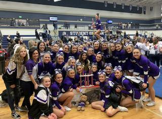 LHS Cheerleaders Region Champs!
