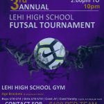 Calling all Futsal players- Register now for 3rd Annual Lehi tournament !