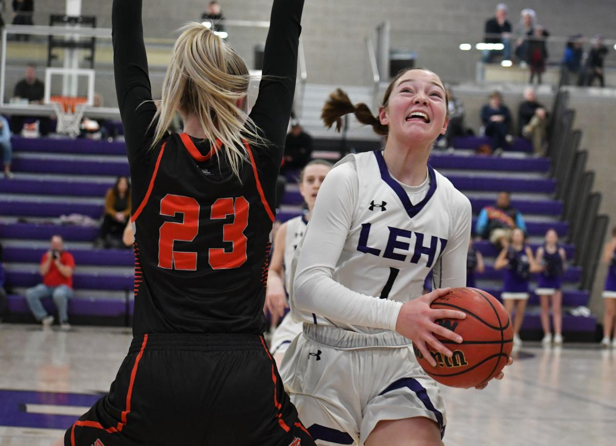 Way to go Girls! Lehi beats Spanish Fork in 5A second round- move onto Quarter Finals Tuesday, Feb 25 against East High at University of Utah 5:50 pm