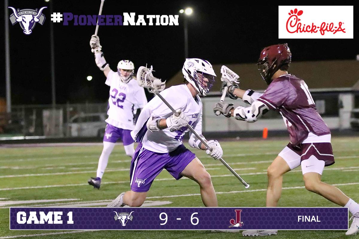 Pioneer Lacrosse beats Jordan 9-6